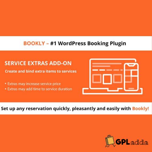 Bookly Service Extras (Add-on)