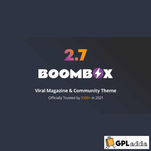 BoomBox - Viral Magazines WordPress Themes