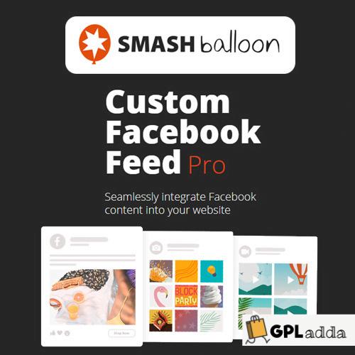 Custom Facebook Feed Pro Smash