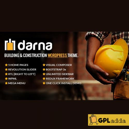 Darna - Building & Construction WordPress Theme