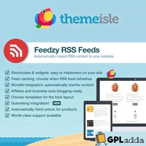 Feedzy RSS Feeds Premium WordPress Plugin