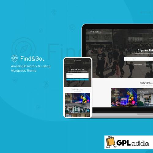 Findgo - Directory & Listing WordPress Theme