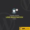 Gravity Forms User Registration Add-On