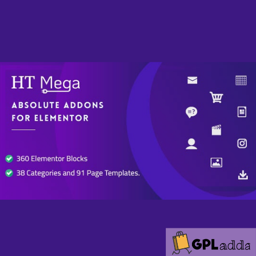 HT Mega Pro – Absolute Addons for Elementor Page Builder