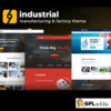 Industrial - Corporate, Industry & Factory WordPress Themes