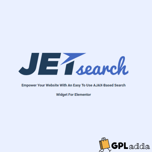 JetSearch - Elementor Experience the true power of search functionality