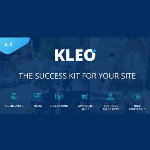 KLEO - Pro Community Focused, Multi-Purpose BuddyPress WordPress Theme