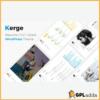 Kerge - Resume / CV / vCard WordPress Theme