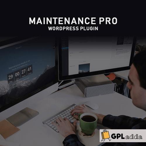 Maintenance PRO - WordPress plugin