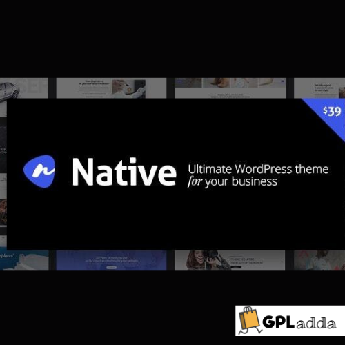 Native - Stylish Multi-Purpose Creative WP Theme