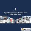 Publisher - Newspaper Magazine AMP Wordpress Theme