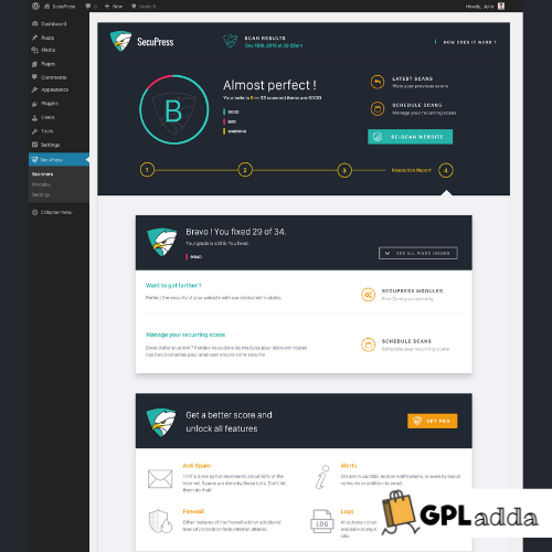 SecuPress Pro - Premium WordPress Security Plugin