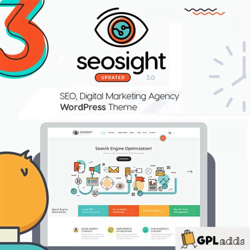 Seosight - SEO, Digital Marketing Agency WP Theme