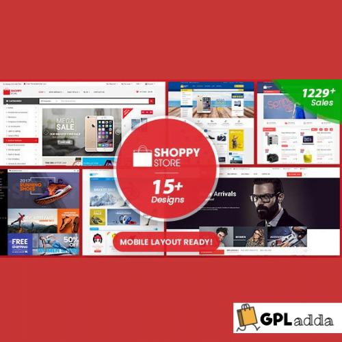 ShoppyStore - Multipurpose Responsive WooCommerce WordPress Theme