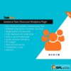 TeamPress - Team Showcase Wordpress plugin