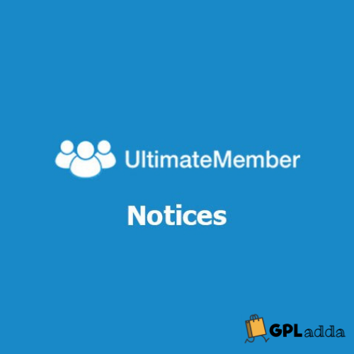 Ultimate Member Notices Addon