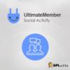 Ultimate Member Social Activity Addon