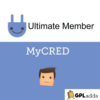 Ultimate Member myCRED Addon