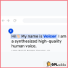 Voicer - Text to Speech Plugin for WP