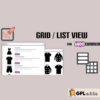 WOO Product GridList Design- Responsive Products Showcase Extension
