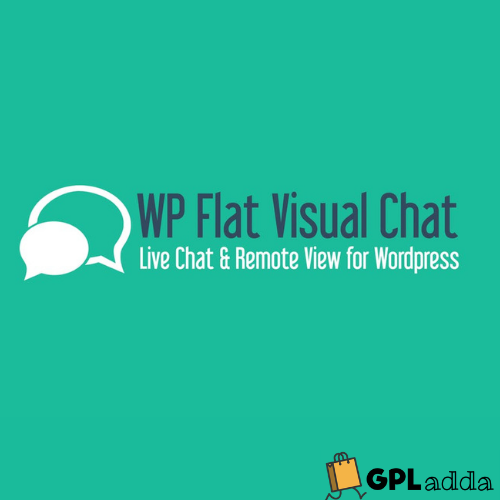 WP Flat Visual Chat - Live Chat & Remote View