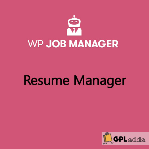WP Job Manager Resume Manager Add-on