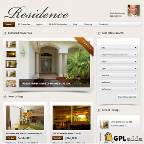 WP Residence - Best Real Estate WordPress Theme