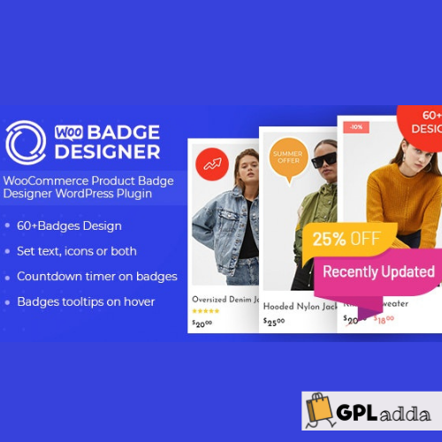 Woo Badge Designer - WooCommerce Product Badge Designer WordPress Plugin