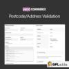 WooCommerce PostcodeAddress Validation