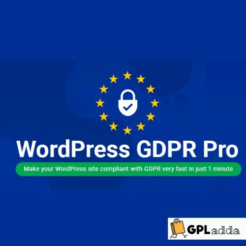 WordPress GDPR + CCPA + DPA Compliance 2020