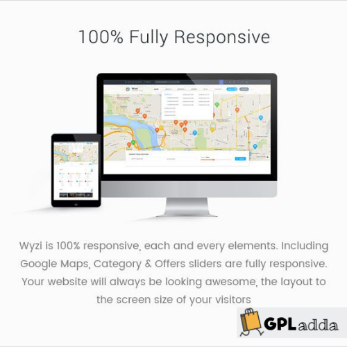 Wyzi - Business Finder and Service Provider Booking WordPress Theme