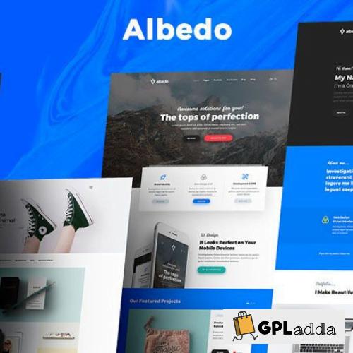 Albedo - Highly Customizable Multi-Purpose WordPress Theme
