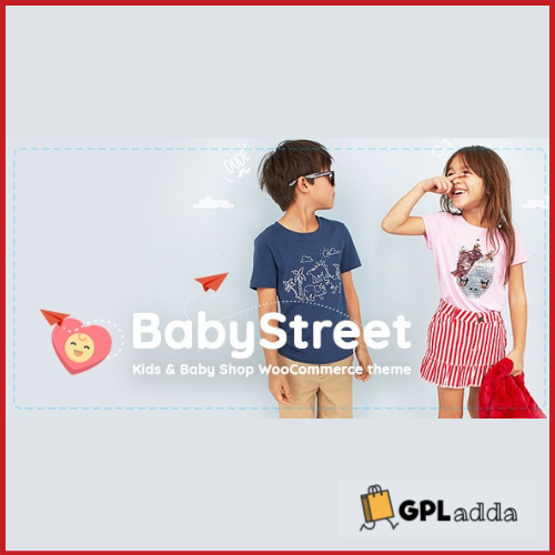 BabyStreet - WooCommerce Theme for Kids Stores and Baby Shops Clothes and Toys
