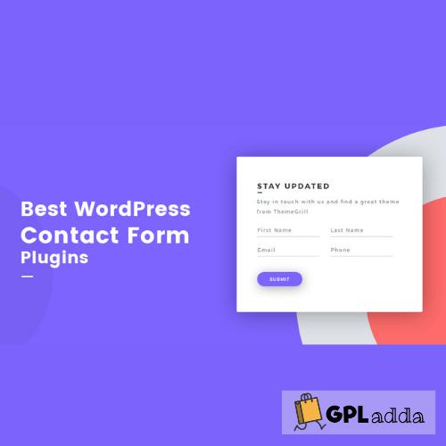 Contact Us Form - WordPress Contact Form Plugin