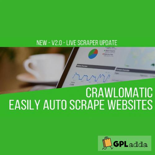 Crawlomatic Multisite Scraper Post Generator Plugin for WordPress
