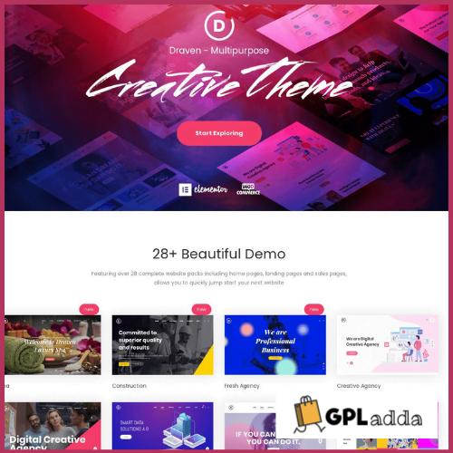 Draven - Multipurpose Creative Theme