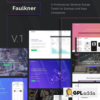 Faulkner - Responsive Multiuse WordPress Theme for Companies and Freelancers