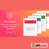 File Viewer - WordPress File Embed plugin