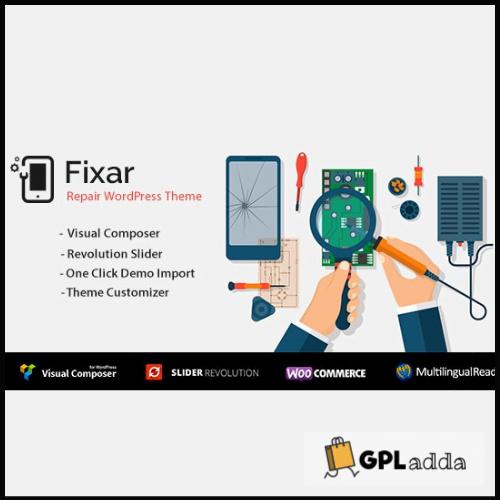 Fixar - Phones & Computer Repair WordPress Theme