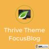 FocusBlog by Thrive Theme - Wordpress Theme