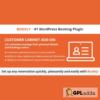 GDPR Solution Bookly Customer Cabinet (Add-on)