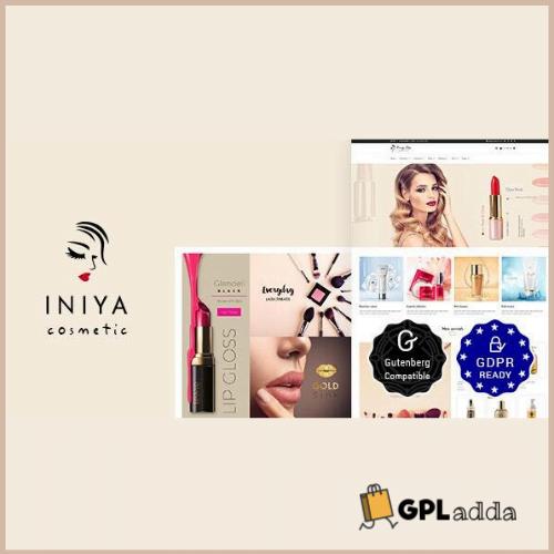 Iniya - Cosmetic WordPress Theme
