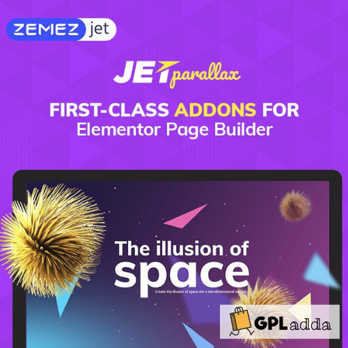 JetParallax - Addon for Elementor Page Builder