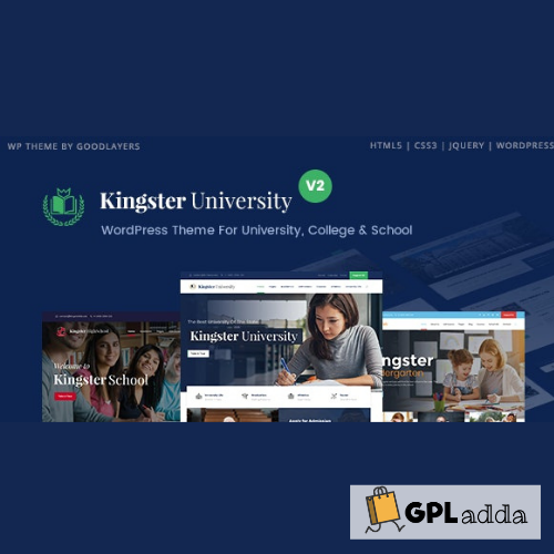 Kingster - Education WordPress For University, College and School