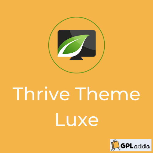 Luxe by Thrive Themes - Wordpress Theme