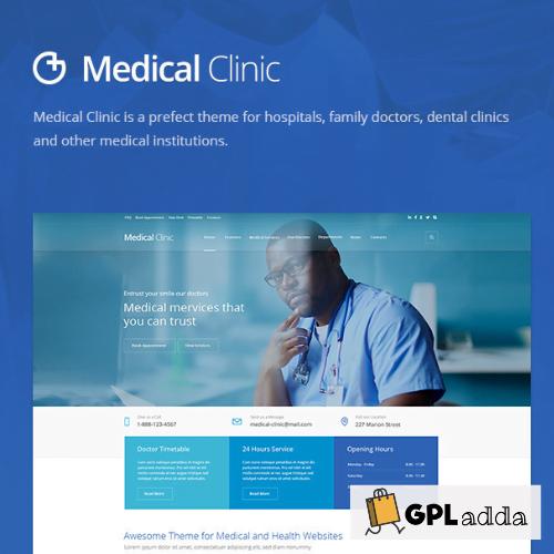 Medical Clinic - Health & Doctor Medical WordPress Theme