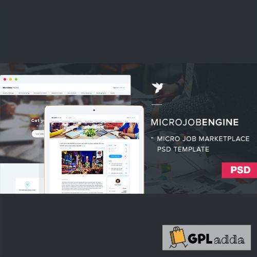 MicrojobEngine - Service Marketplace WordPress Theme