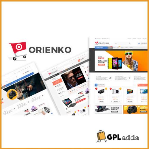 Orienko - WooCommerce Responsive Digital Theme