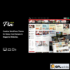 Pin - Pinterest Style Personal Masonry Blog Front-end Submission Wordpress Theme