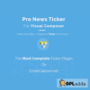 Pro News Ticker & Marquee for Visual Composer